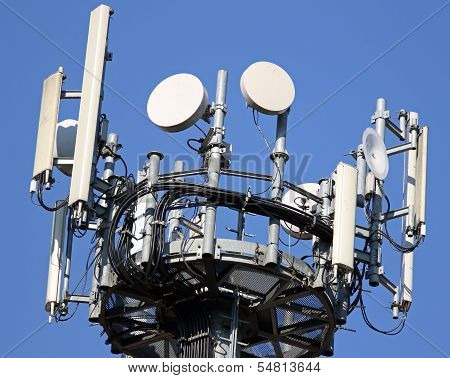 Cable And Antennas For Signal Repetition Of Mobile Telephony And Television Signals