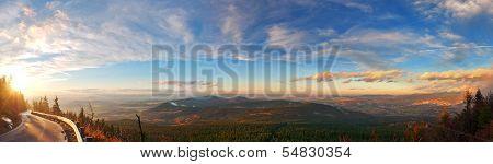 Sunset Hills Panorama