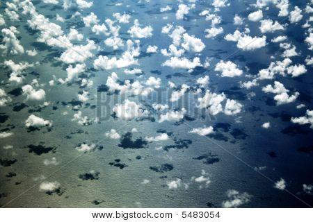 Clouds On The Atlantic Ocean