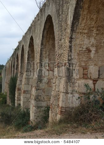 Old Viaduct With Arches