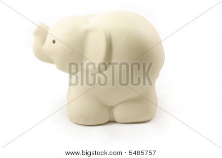 White Toy Elephant