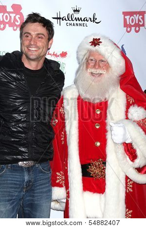 LOS ANGELES - DEC 1:  Daniel Goddard, Santa Claus at the 2013 Hollywood Christmas Parade at Hollywood & Highland on December 1, 2013 in Los Angeles, CA