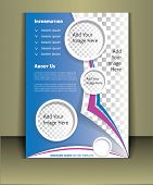 """Brochure print template. Well organized brochure print template. Layered eps file. For adding you images in this template Place your images on """"Image Placeholder Layers"""" poster"""