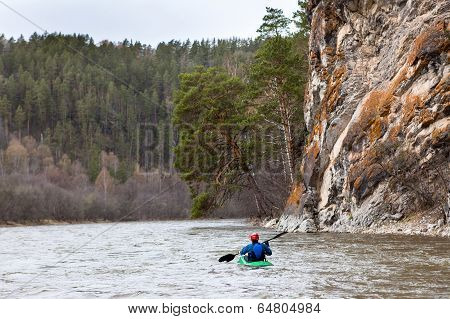 Inzer River Rafting In The Southern Urals