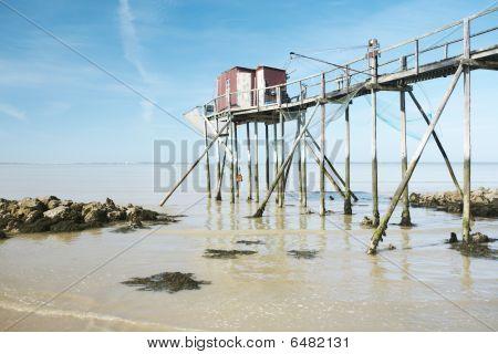 Old fisherman hut