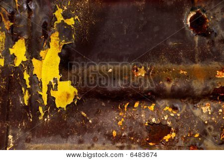 Abstract Metal Surface In Toxic Style