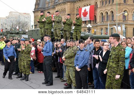 Canada Honours Veterans Who Served In Afghanistan