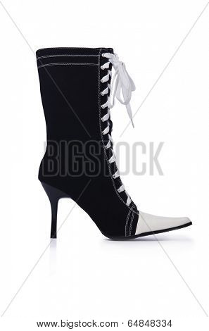 Topboots isolated on the white