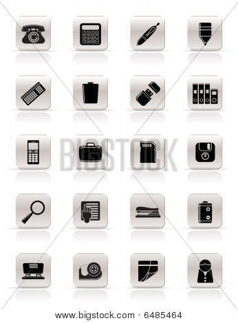 Simple Office tools Icons