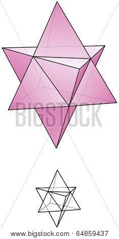 Star Tetrahedron - Merkaba