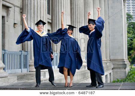 Graduates Fist Pump