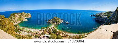Panorama Of The Beach Isola Bella