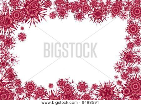 Cosmic red background