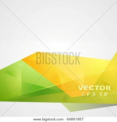 Bright concept sunny summer vector tech design poster
