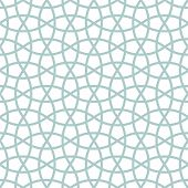 Traditional arabic tangled lattice pattern. Seamless vector background. poster