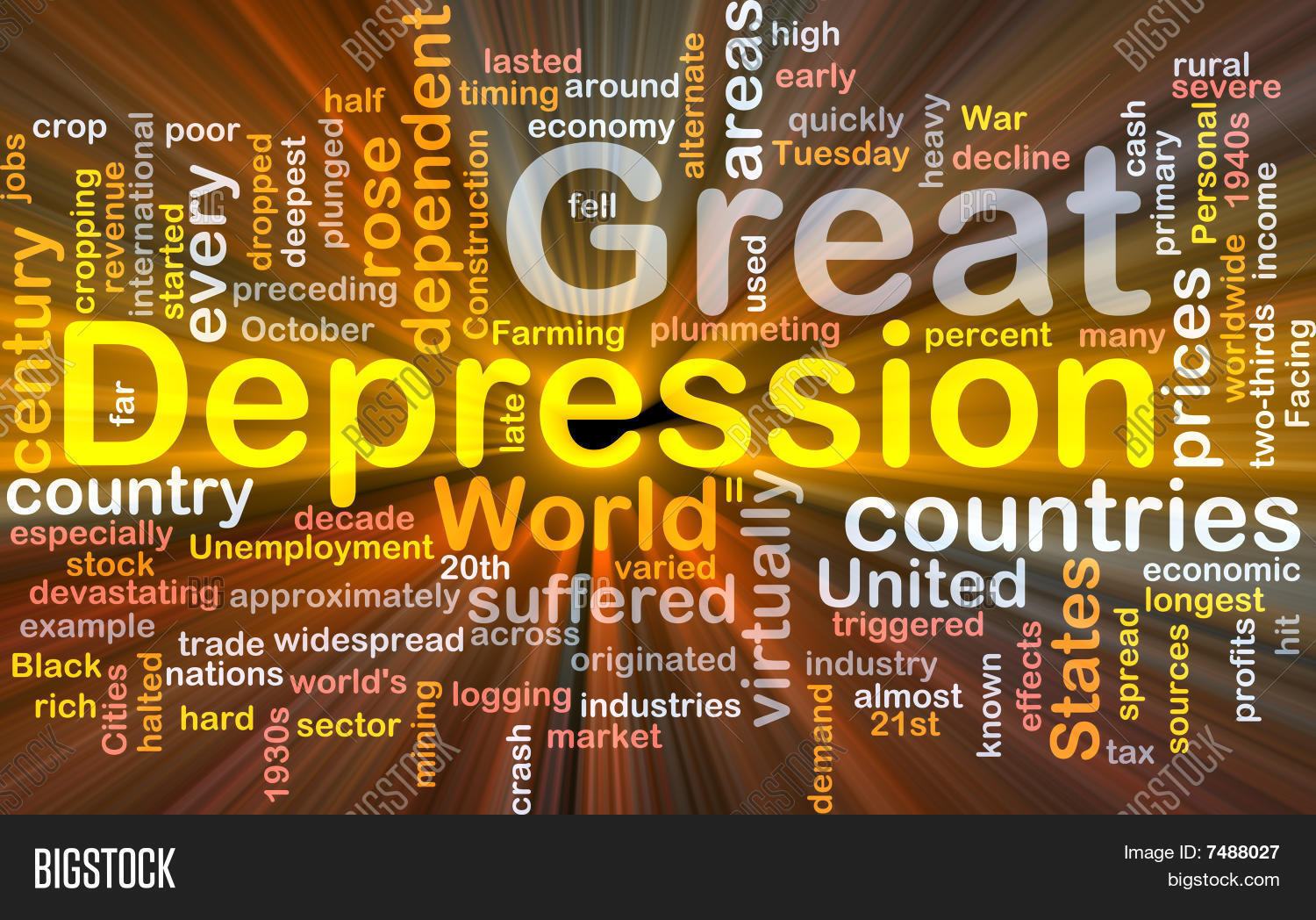 Great depression word cloud box image photo bigstock great depression word cloud box package biocorpaavc Image collections