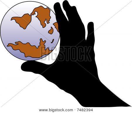 Hand And World