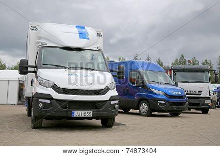Iveco Vehicles at FinnMETKO 2014