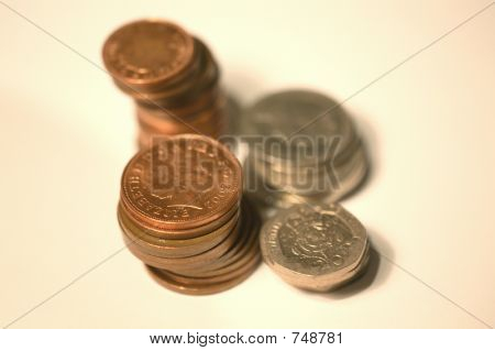 5D0460 stack of coins