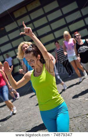 Flashmob on the street