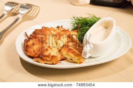 Russian Potato Cake
