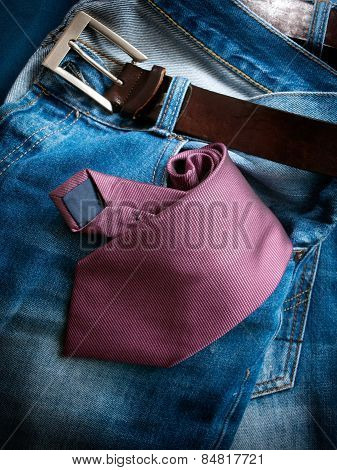 Business In Jeans