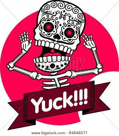 Skeletons. T-shirt. Yuck
