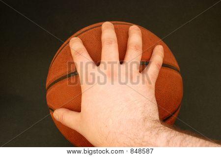 Holding Basketball #4