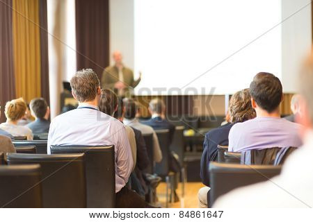 Business convention and Presentation.