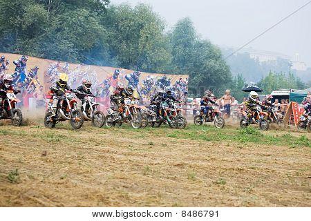 Motocross internacional XX en Vladimir