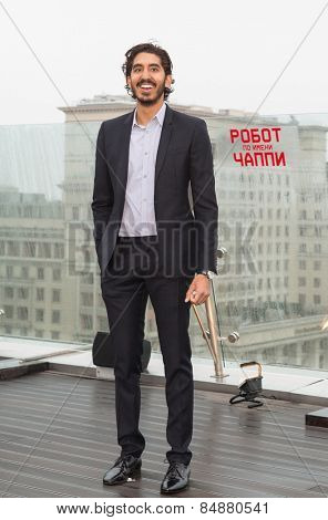 MOSCOW, RUSSIA, MARCH, 01: Actor Dev Patel. Photo-call of the movie