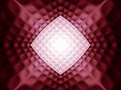 Abstract geometrical dark red pattern from a mosaic poster