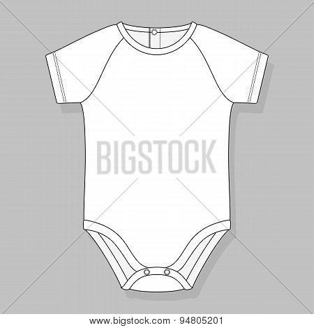 baby bodysuit raglan