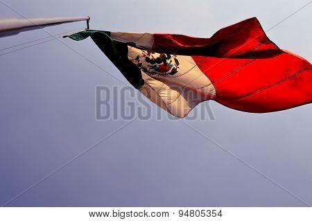 México's flag