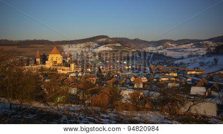 Biertan medieval village fortified church