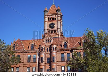 Courthouse In Wheaton