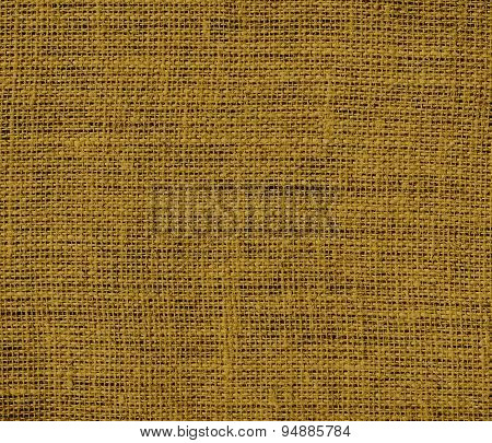 Drab burlap texture background