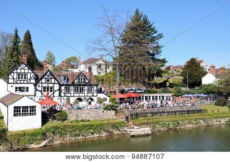 Riverside Pub, Shrewsbury.