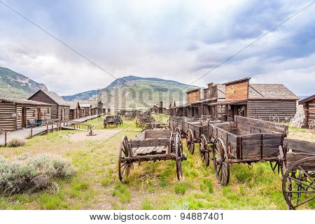 Old Trail Town In Cody - Wyoming