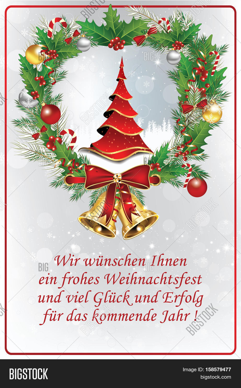 business german greeting card for winter season german text translation we wish you merry