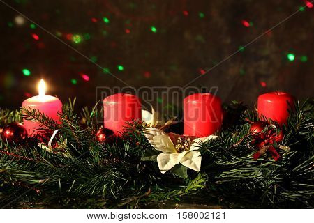 Internationally Holidays / 1. Advent / Advent is a season observed in many Western Christian churches as a time of expectant waiting and preparation for the celebration of the Nativity of Jesus at Christmas.