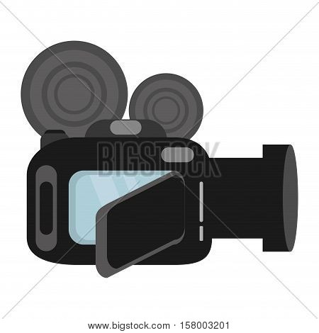 video camera digital recorder wedding vector illustration eps 10