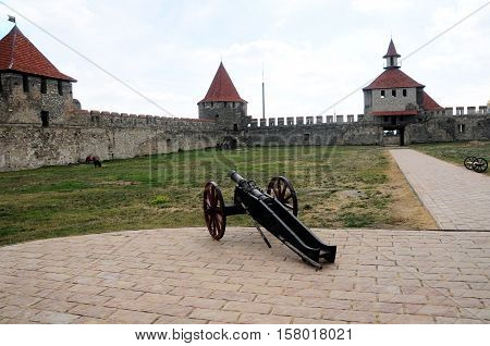 Bendery Fortress Cetatea Tighina in Transnistria a self governing territory not recognised by United Nations