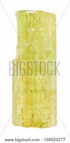 Heliodor (golden Beryl, Yellow Beryl) Crystal