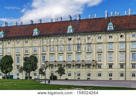 Leopold Wing of Hofburg Palace in Vienna Austria