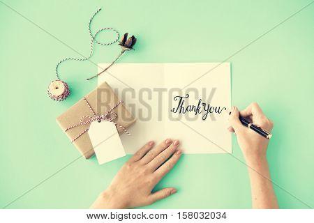 Thank You Gratitude Marci Gracias Concept