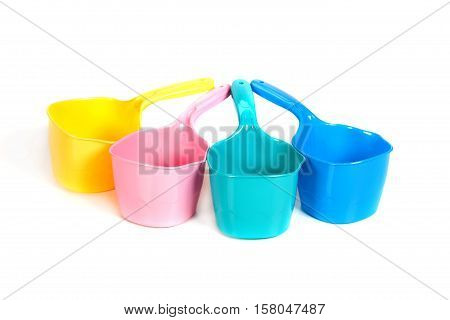 Multi-colored Plastic Ladles