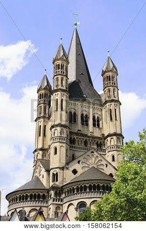 Church Gross St Martin Cologne