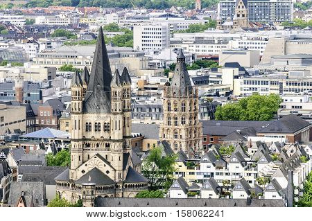 Cityscape Cologne