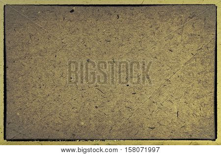 Old paperboard textures frame - perfect vintage background with space for text or image